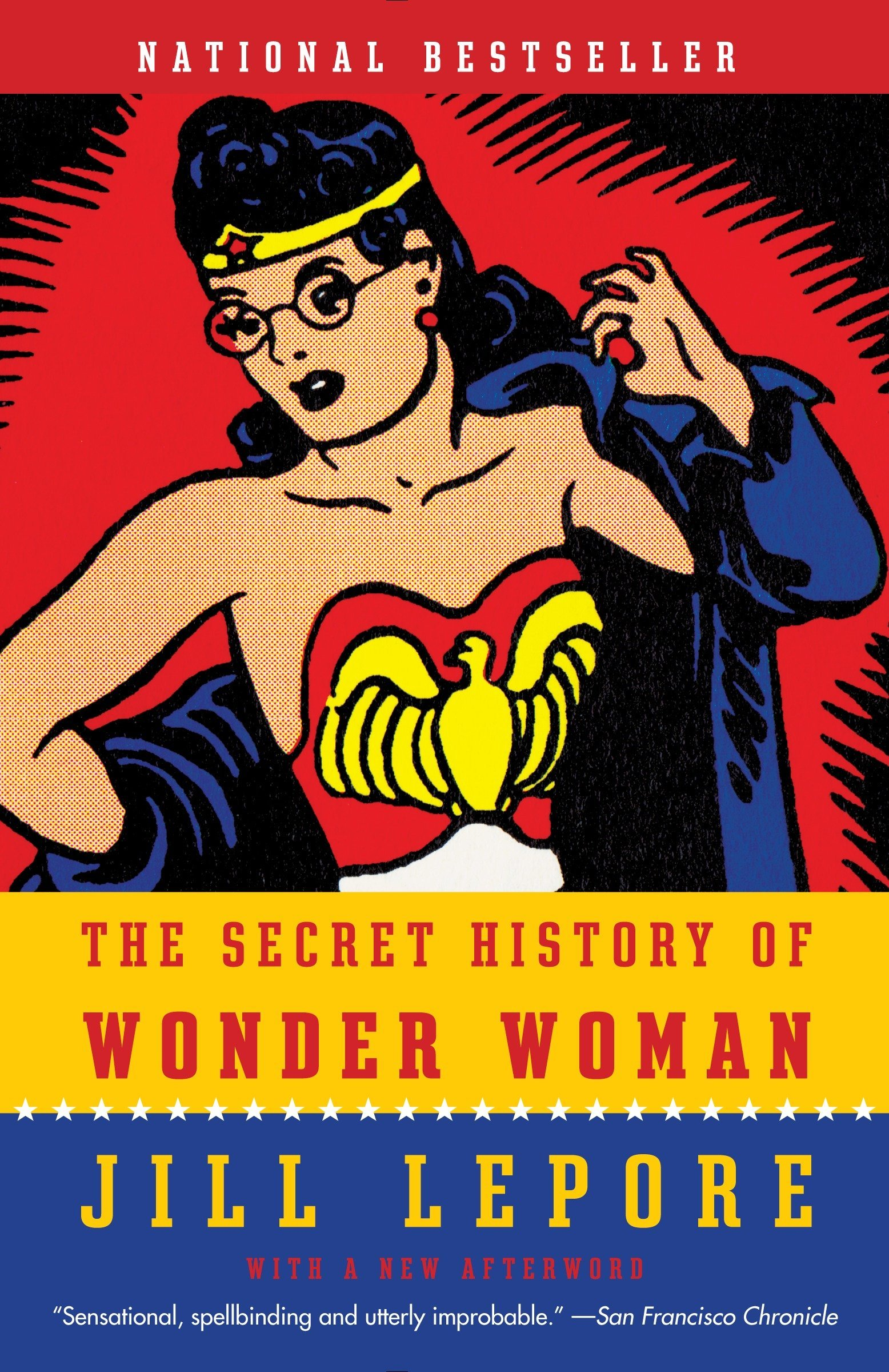 The Secret History of Wonder Woman book cover