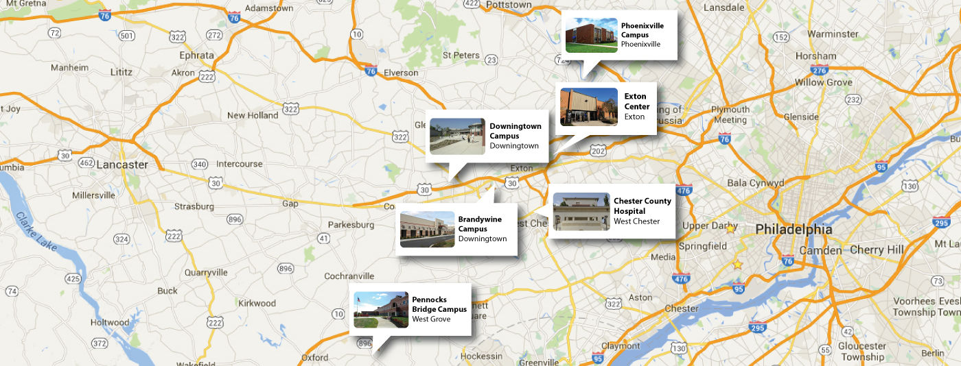 Chester County Locations