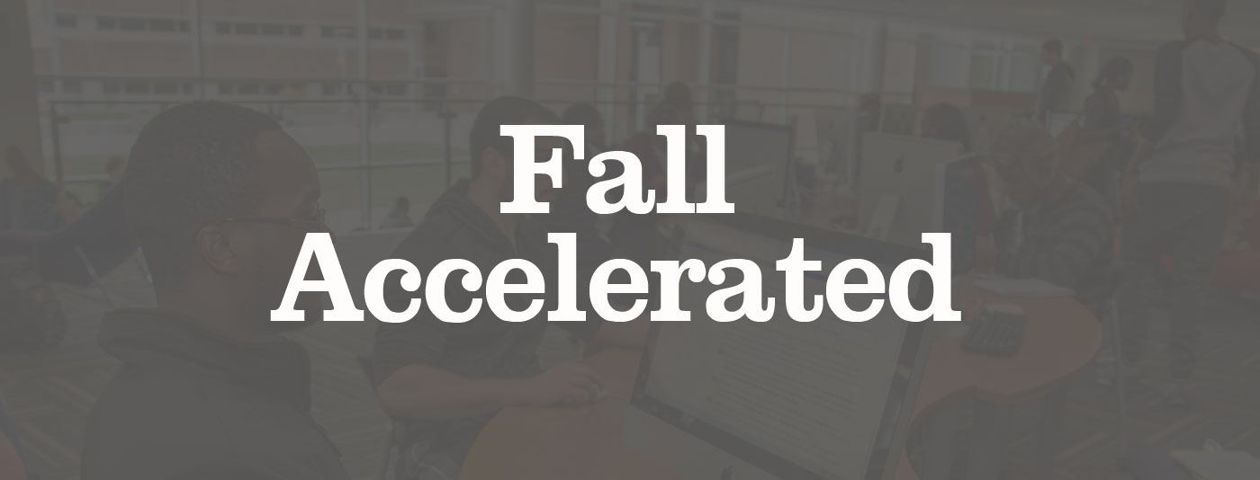 Fall Accelerated graphic