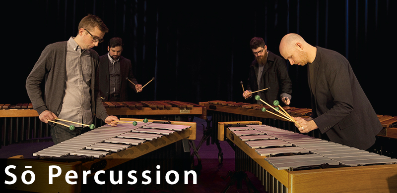 So Percussion Banner Image at DCCC