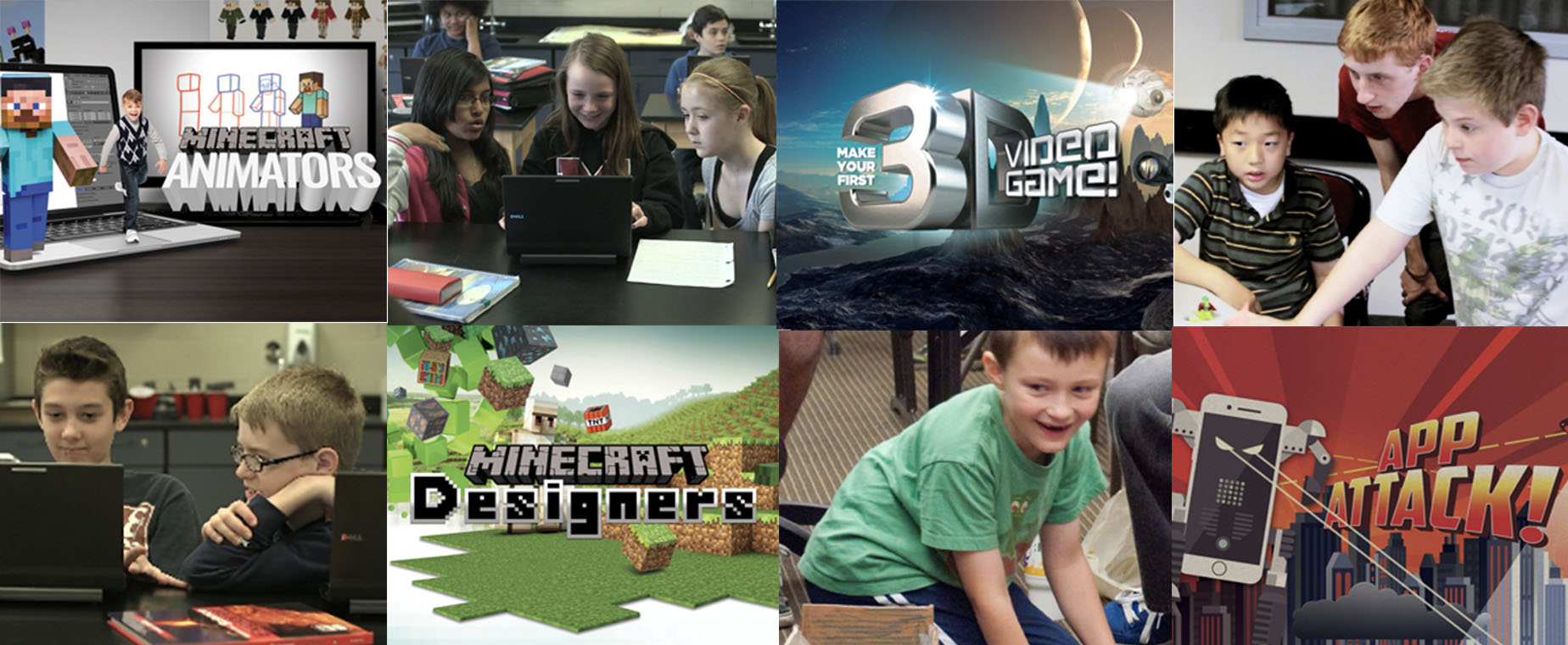 STEAM camp header image
