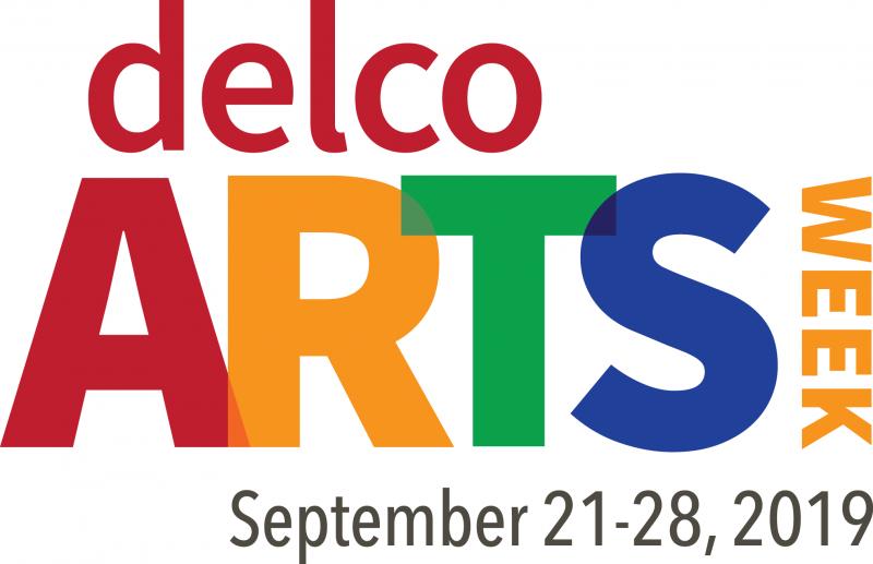Delco Arts Week Logo