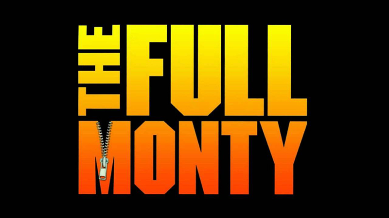 The Full Monty ad poster