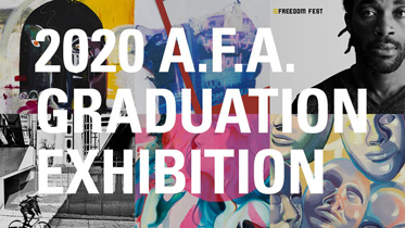View the 2020 A.F.A. Graduation Exhibition