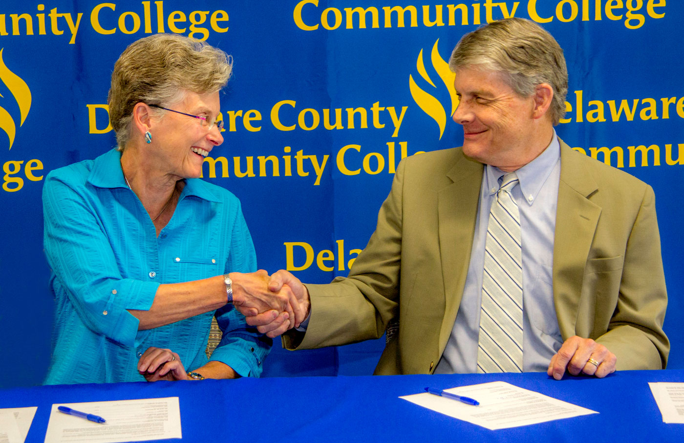 Delaware county community college find yourself here 2 college signs guaranteed admission agreement with penn state university 1betcityfo Choice Image