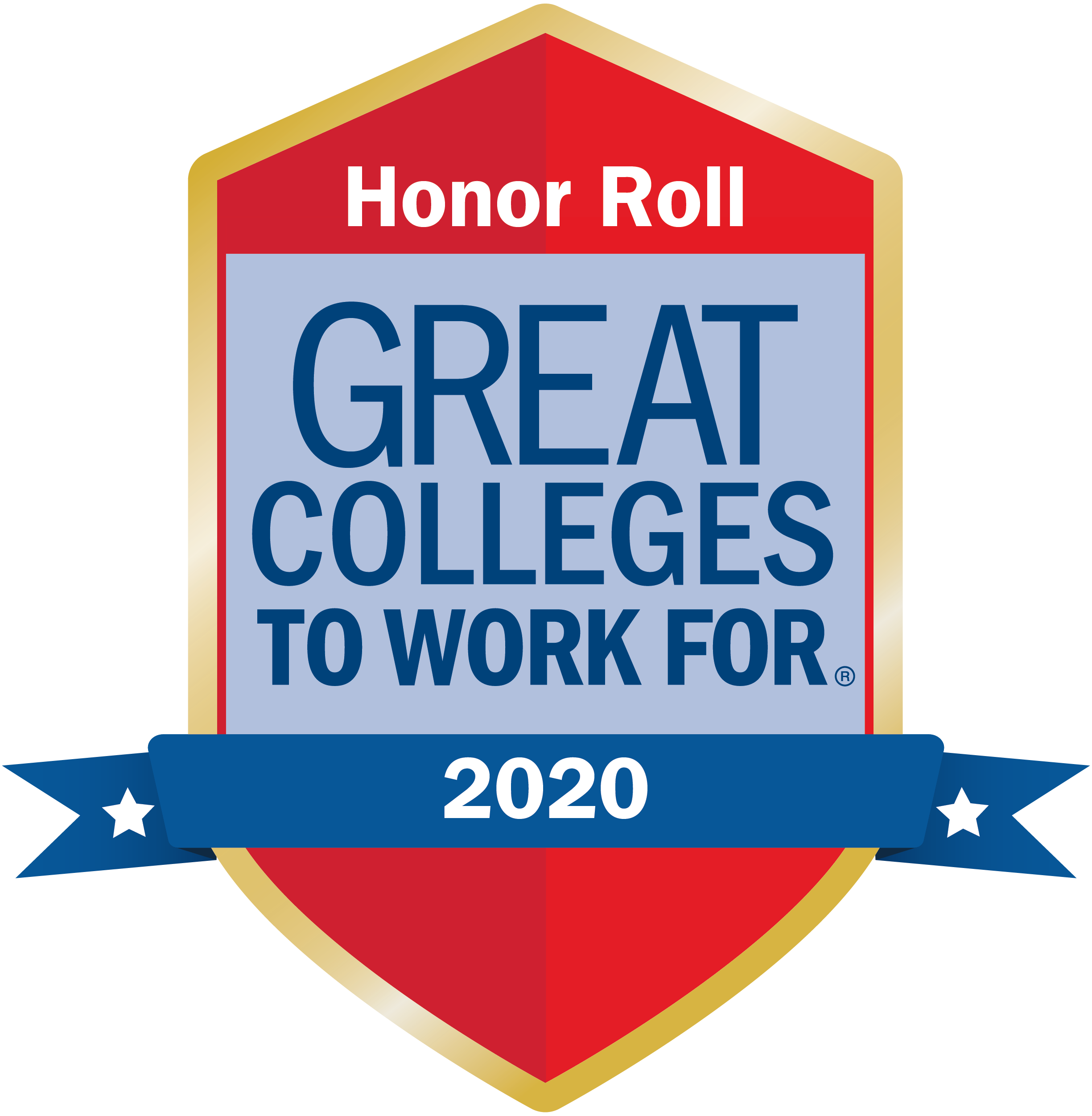 Great College to Work For Honor Roll Logo
