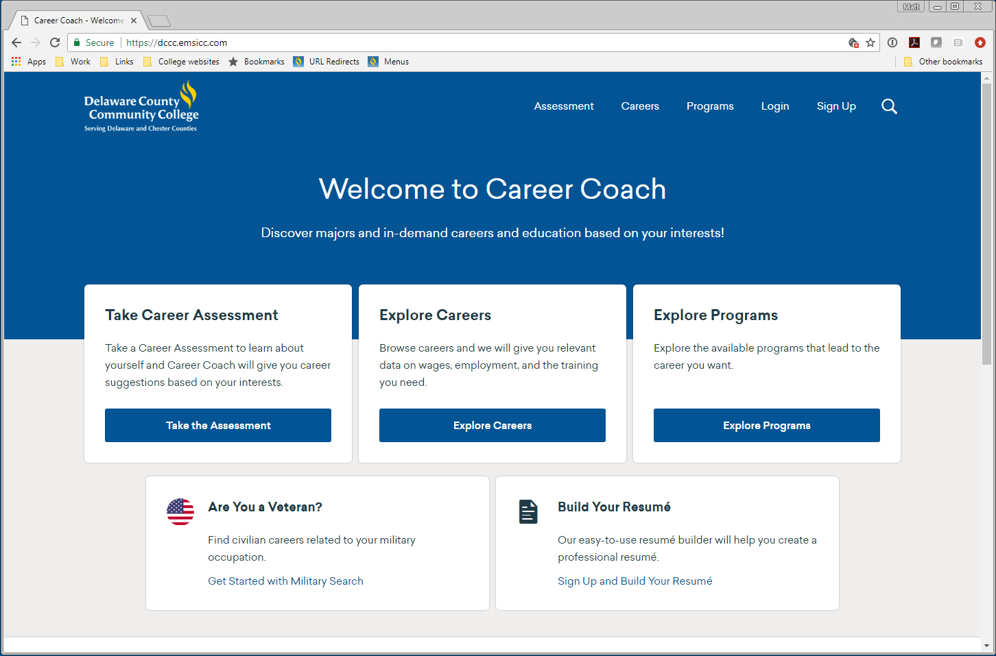 Career Coach Screenshot