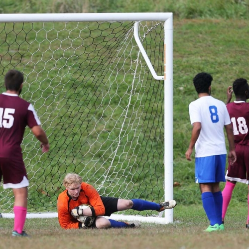 2016 Soccer in action