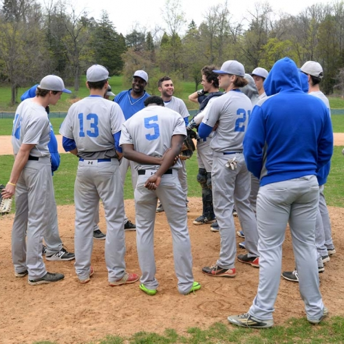 Conference at mound