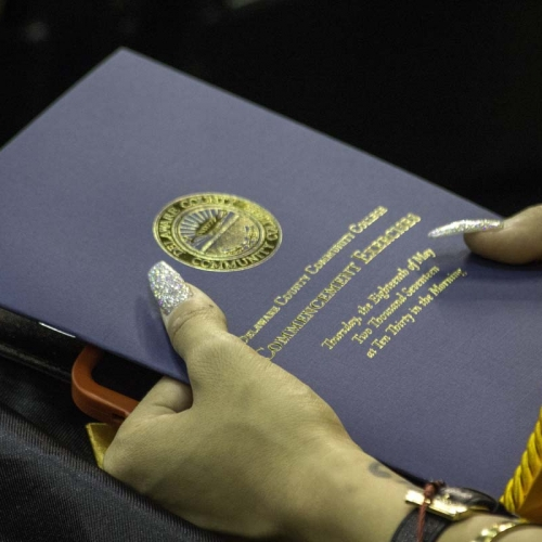 Commencement Exercises booklet