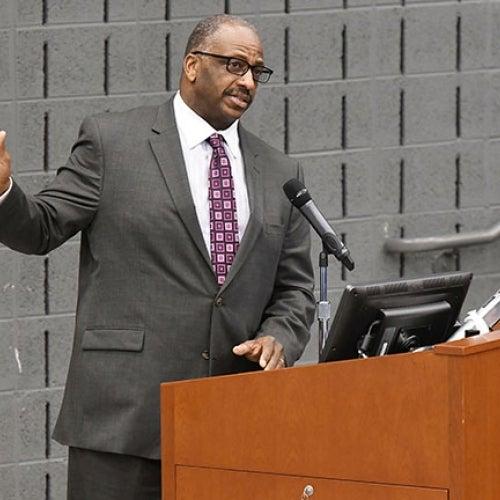 Photo of keynote speaker Ronald Bradley