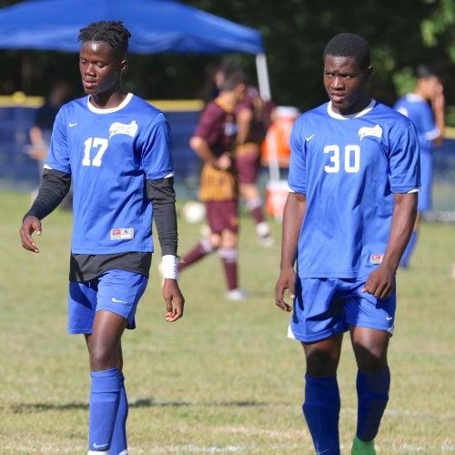 Abdu Sonnie and Ebento Akoi