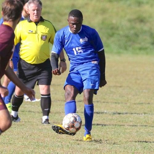 Phantoms men's soccer player
