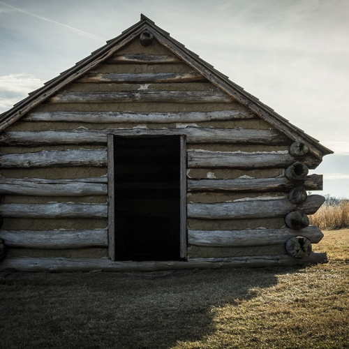 Valley Forge hut