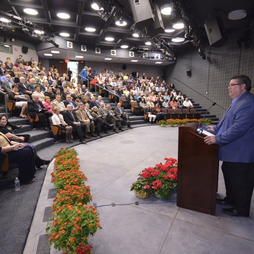 Jeff Baun speaking